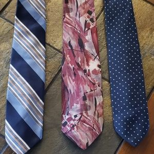Other - Silk Neckties 3 for 20